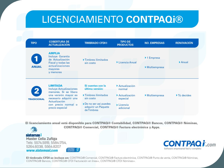 Licenciamiento_CONTPAQi23150418