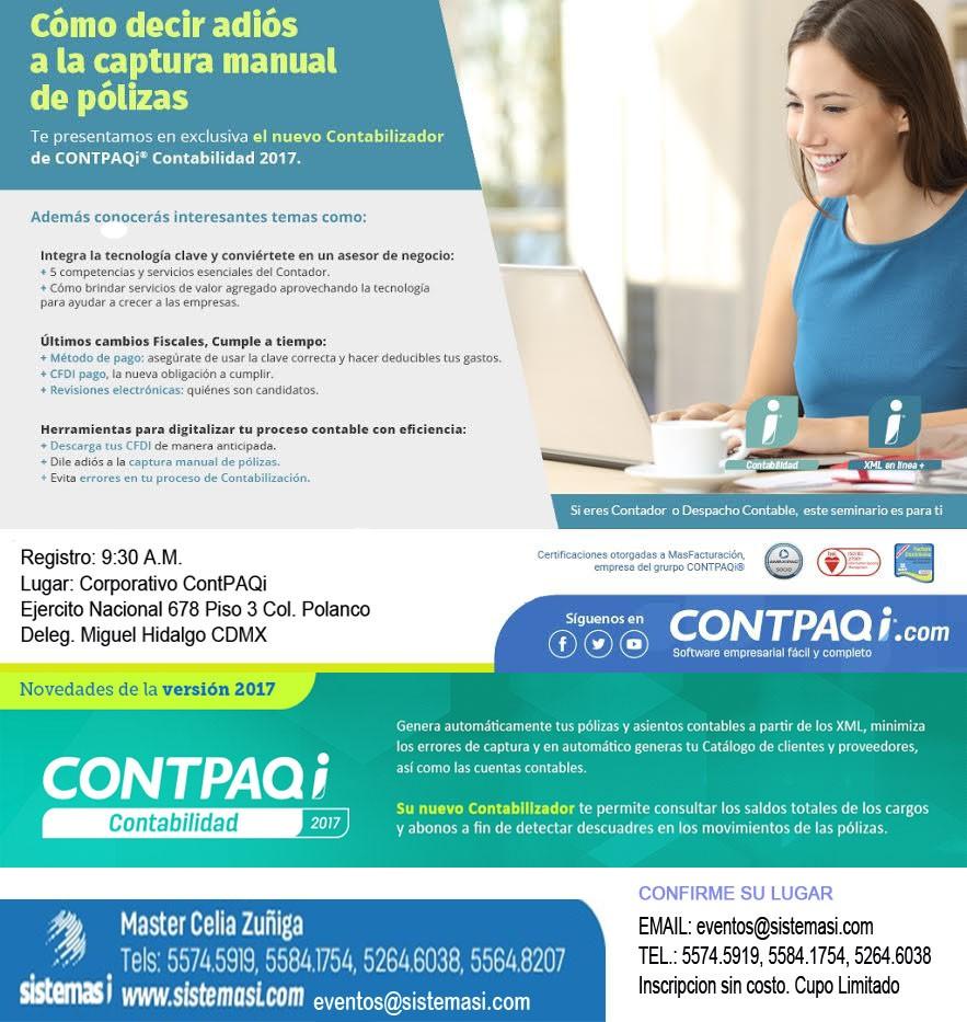 evento-sin-costo-17-noviembre-2016-contpaqi-master-sistemasi